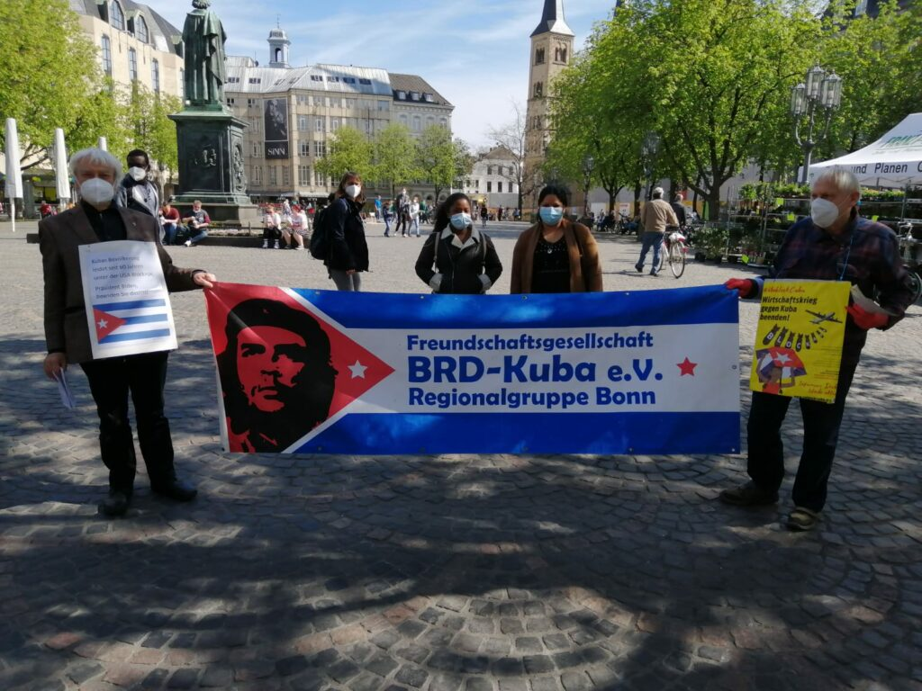 UnblockCuba-Aktion Bonn