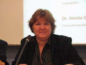 Dr. Aleida Guevara in Berlin