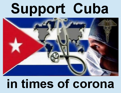 Support Cuba in the time of corona