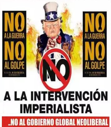 No a la intervencion imperialista