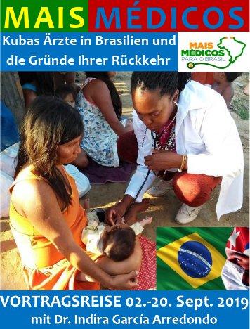 Vortragsreise: Mais Médicos